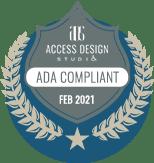 ADA Compliance bagde
