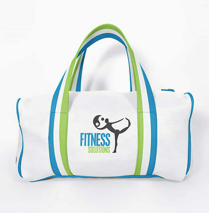 Fitness solutions gym bag